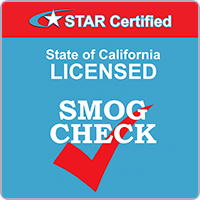 SMOG STAR Certifed Station Check Ca
